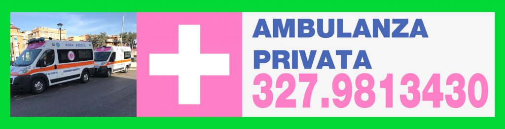 327.9813430 Ambulanze Private Litorale Romano - Ambulanza Roma Medical offre Ambulanze per tutto il territorio Romano. Operiamo 24h su 24 tutti i giorni.